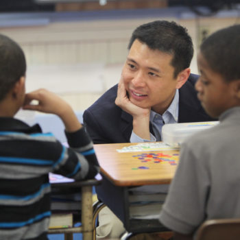 Dr. Theodore Chao is an assistant professor of mathematics education in Teaching and Learning's Science, Technology, Engineering and Mathematics program.